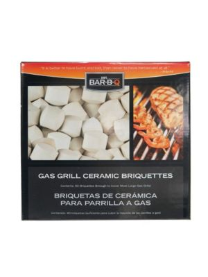 Chef Master 06000 1 Bag Gas Grill Ceramic Briquettes - 60 Pieces