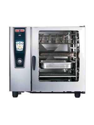 Rational 102 (A128106.12) Electric Combi Oven with Ten Full Size Sheet Pan Capacity - 208/240V 3 Phase -FREE SHIPPING W LIFT GATE!
