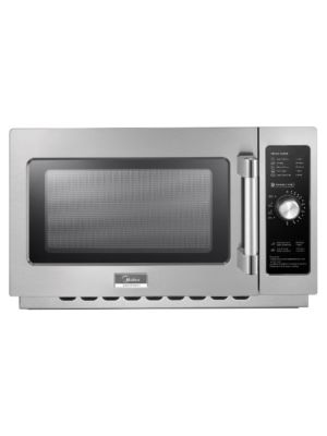 Midea 1034N0A 1000 Watt Commercial Microwave Oven with Dial Timer - 1.2 Cu. Ft. Capacity