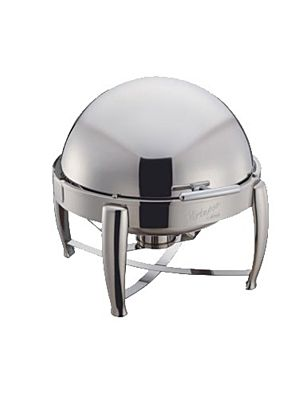 Winco 103B 6 Quart Full Size Virtuoso Chafing Dish