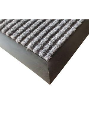 Winco FMC-35C 3' x 5' Vinyl Backed Charcoal Floor Mat