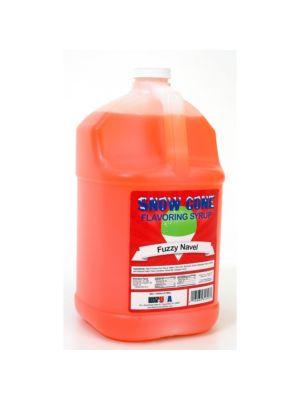 Winco 72011Benchmark 1 Gallon of Snow Cone Syrup - Orange