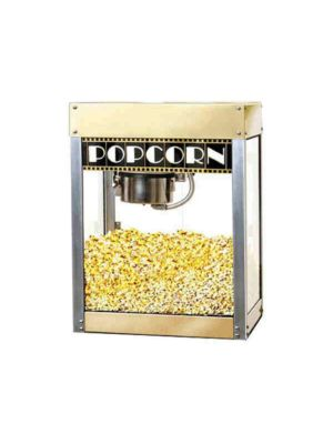 "Benchmark USA 11068 Popcorn Popper Machine ""Premiere"" Cinema Style - 6 oz = 127 Quart/Hour, 120V"