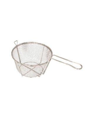"Winco FBR-11 10 1/2"" Diameter Mesh Wire Fry Basket"