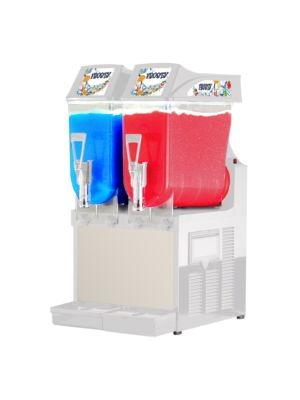Ampto GRA-122 Two 3 Gallon Bowl Non-Carbonated Frozen Drink Machine