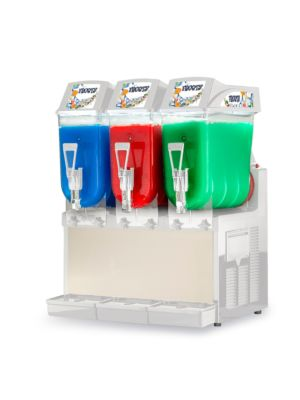 Ampto GRA-123 Three 3 Gallon Bowl Non-Carbonated Frozen Drink Machine
