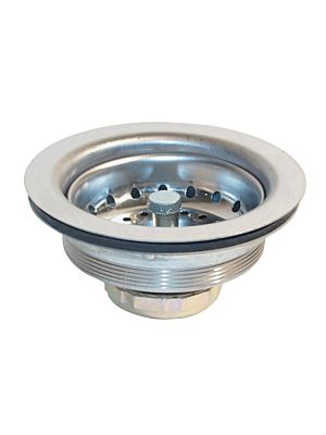 """Krowne 22-616 Replacement Face Strainer for Waste Drains 3-1/2"""" sink opening"""