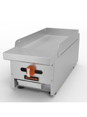 """MVP Group Sierra SRMG-12 12""""W 1 Burner Gas Countertop Manual Griddle - 23,000 BTU"""