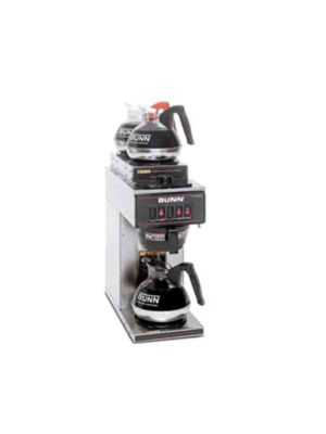 Bunn 13300.0004 / VP17-3 -  Pourover Coffee Brewer, 1 Lower 2 Upper Warmers