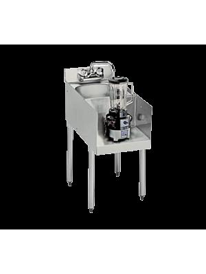 Krowne 18-12BD Underbar Blender/Dump Sink Station