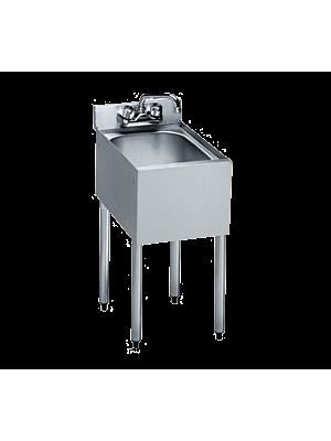 "Krowne 18-1C 12"" 1 Compartment Sink"