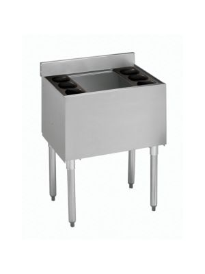 Krowne 18-24-10 Underbar 1800 Series Ice Bin Cocktail Station with 10-Circuit Cold Plate 24""