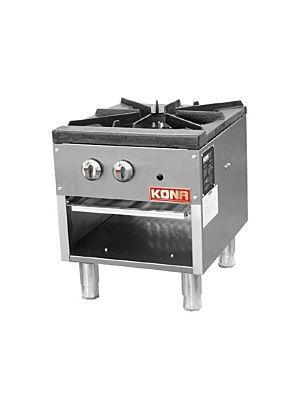 "Kona NJSP-18 18"" Single Natural Gas Stock Pot Range - 80,000 BTU"