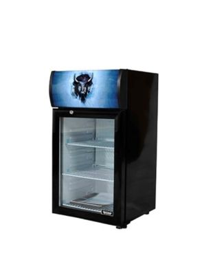 Bison BRM-1.84  Countertop Glass Door Reach-In Refrigerator Merchandiser 1.84 cu. ft.