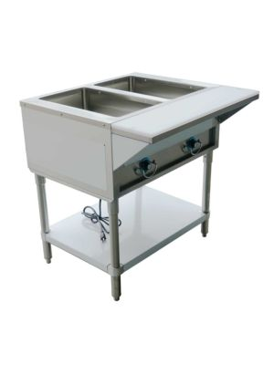 "Copper Beech CBEST-2-S 30""W Two (2) Well Electric Steam Table - 120V/1PH"