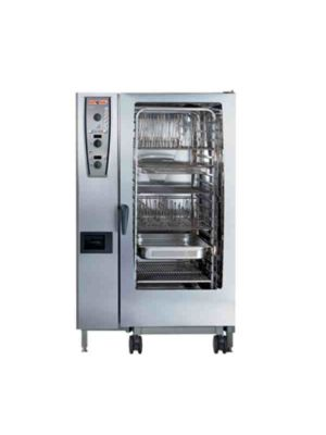 Rational 202 (A229106.27E.202) Combi Oven W Twenty Full Size Sheet Pan Capacity - Natural Gas -FREE SHIPPING W LIFTGATE!