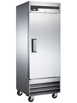 "Bison XRR-21 X Series 29""W One Door Stainless Reach-In Refrigerator - 21 Cu. Ft"