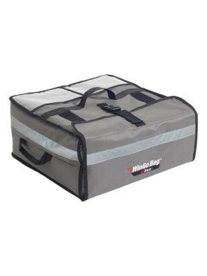 """Winco BGPZ-2109 21.5"""" Insulated Pizza Delivery Bag"""