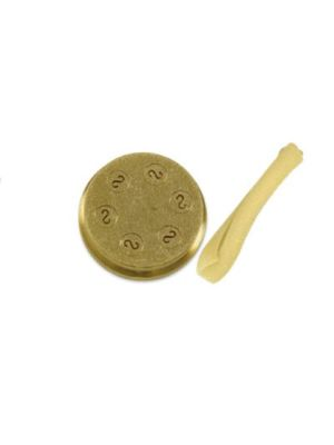 "Sirman Pasta Die 28180220 - N.220 11/32"" 8.8mm Caserecce Strozzapreti for Sirman Pasta Machines"