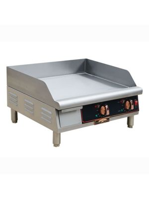 "Copper Beech CBETG-24 24"" Wide Electric Countertop Manual Control Griddle -208/240 1PH"