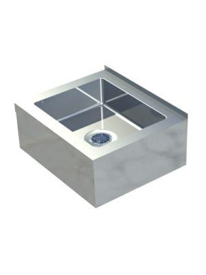 """Sapphire SMMS-251 25""""W x 21""""D x 10""""H Floor Mount Mop Sink"""