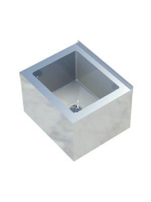 """Sapphire SMMS-252 25""""W x 21""""D x 16""""H Floor Mount Mop Sink"""