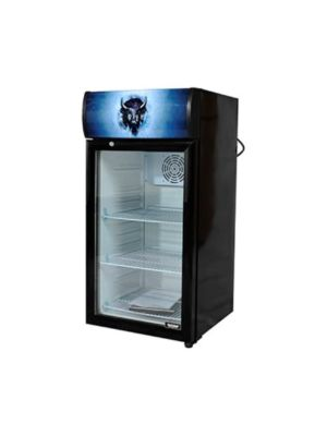 Bison BRM-2.83  Countertop Glass Door Reach-In Refrigerator Merchandiser 2.83 cu. ft.