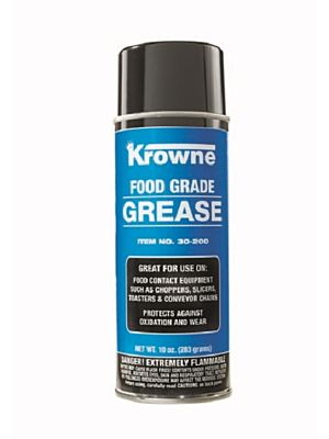 Krowne 30-200 10oz. Can Food Grade Grease (IN STORE PICK UP ONLY)