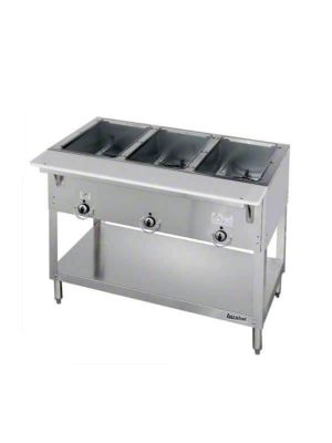 "Duke Aerohot 303 Three (3) Well 44 3/8""W Gas Steam Table - 7,500 BTU"