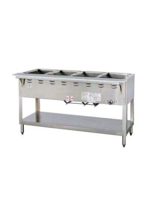 "Duke Aerohot E304 Four (4) 58 3/8""W Well Electric Steam Table -  120V/1PH"