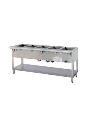 "Duke Aerohot 305 Five (5) Well 72 3/8""W Gas Steam Table - 12,500  BTU"