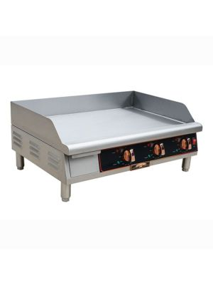 "Copper Beech CBETG-30 30"" Wide Electric Countertop Manual Control Griddle -208/240 1PH"