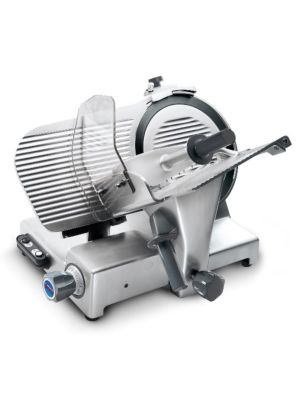 """Sirman 153341N08WNA PALLADIO 330 ING  Gear Driven Electric Meat Slicer, W 13"""" Blade - Made In Italy!"""