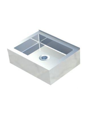 """Sapphire SMMS-331 33""""W x 21""""D x 10""""H Floor Mount Mop Sink"""