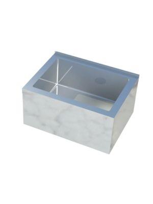 """Sapphire SMMS-332 33""""W x 21""""D x 16""""H Floor Mount Mop Sink"""