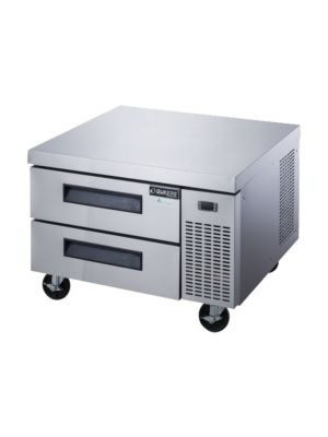 """Dukers DCB36-D2 36""""W  Refrigerated Chef Base with 2 Drawers"""