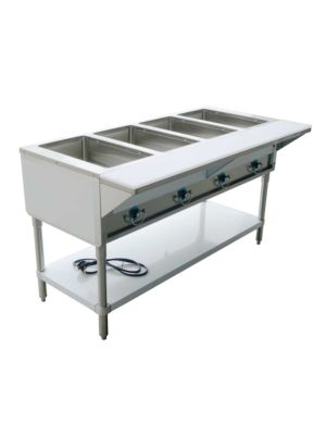 "Copper Beech CBEST-4-S 60""W Four (4) Well Electric Steam Table - 208-240V/1PH"