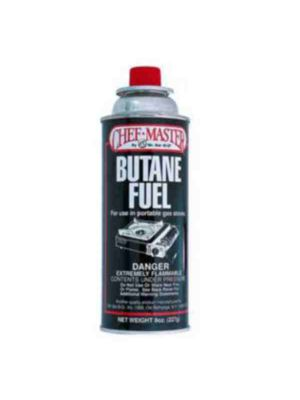 Chef Master 40062 Butane Fuel (4 Pack) - IN STORE PICK UP ONLY