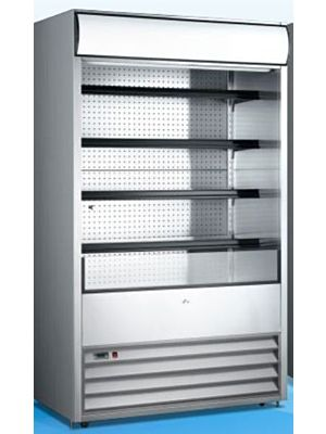 "Omcan RS-CN-0700 (41469) 48"" Open Refrigerated Floor Display Merchandiser"