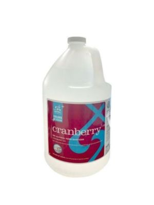 SANTEC 428904 Cranberry 1-Gallon Cranberry Scented Gel Hand Sanitizer, 62% Ethanol Alcohol (IN-STORE PICK UP ONLY)