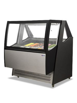 "Omcan FR-CN-1200-D (43118) 49"" Gelato/Ice Cream Display Showcase"
