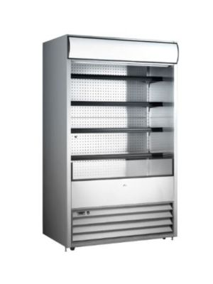 "Omcan RS-CN-0530 (43459) 36"" Open Refrigerated Floor Display Merchandiser"