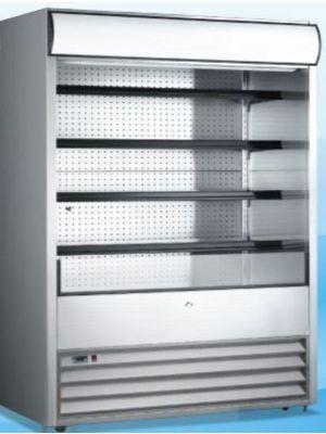 """Omcan RS-CN-1050 (43460) 72"""" Open Refrigerated Floor Display Merchandiser"""