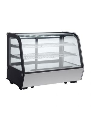 "Omcan RS-CN-0160-4 (44630) 35"" Countertop Refrigerated Display Case"