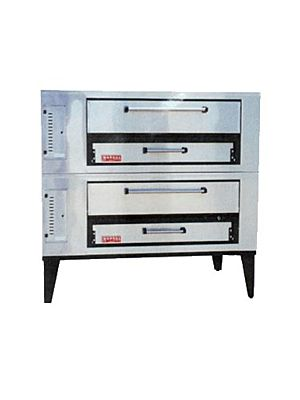 Marsal SD-448 Stacked Gas Pizza Oven - 190,000 BTU
