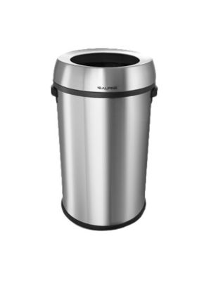Alpine 470-65L 17 Gallon Stainless Steel Trash Can with Non-Skid Base (FREE SHIPPING)