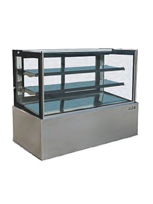 "Kona NJBF-72 70.8""W Straight Glass Refrigerated Display Case"