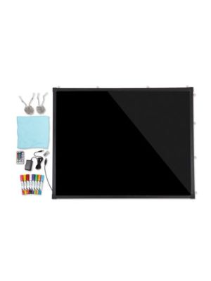 "Alpine 495-03 Write-On LED Marker Board 27 3/5""W x 19 7/10""H"