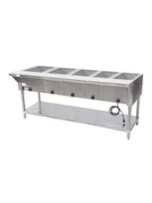 "Copper Beech CBEST-5-S 72""W Five (5) Well Electric Steam Table - 208-240V/1PH"