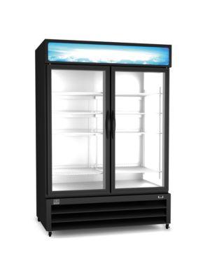 "Kelvinator KCHGM48F  54""W Two Section Glass Swing Door Merchandiser Freezer - 49 Cu. Ft."